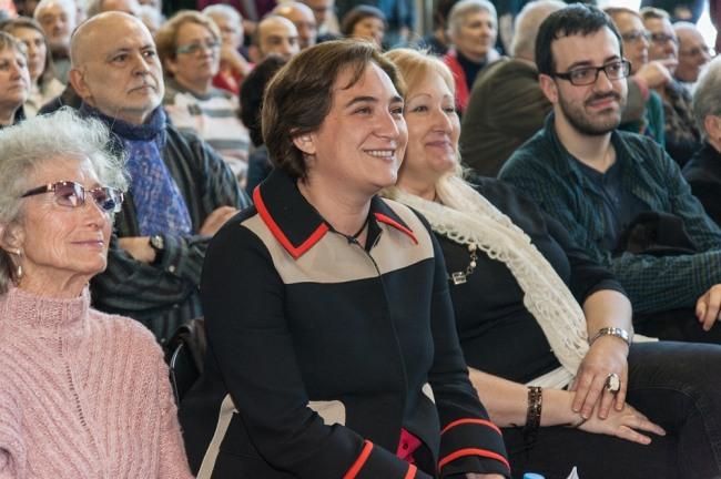Ada Colau, photo by Josep Salip